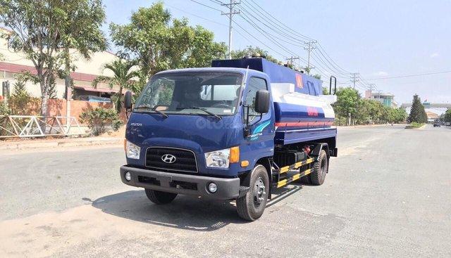 Bán ô tô Hyundai Mighty 110s-Bồn 8000L-2019, màu xanh lam