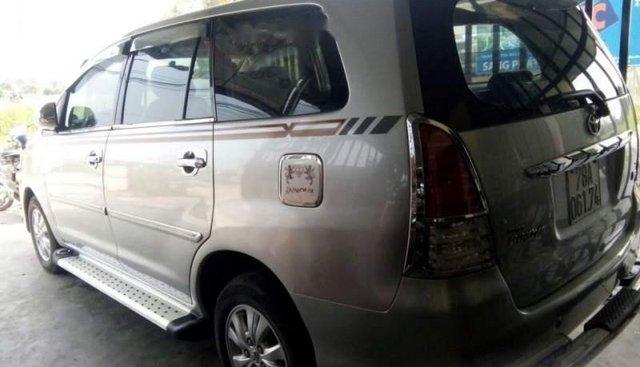 Bán Toyota Innova J 2008, màu bạc xe gia đình, 265 triệu