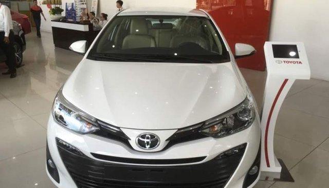 Bán xe Toyota Vios 2019, màu trắng