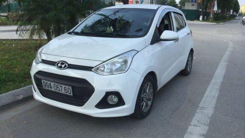 Bán xe Hyundai Grand i10 1.0 MT sản xuất năm 2014, màu trắng chính chủ