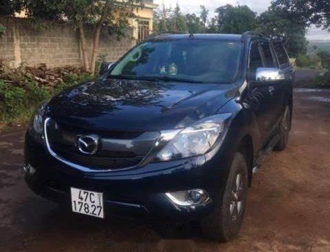 Cần bán lại xe Mazda BT 50 MT năm 2017, màu đen, nhập khẩu