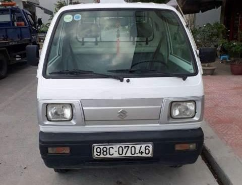 Bán Suzuki Super Carry Truck đời 2014, màu trắng, giá 168tr