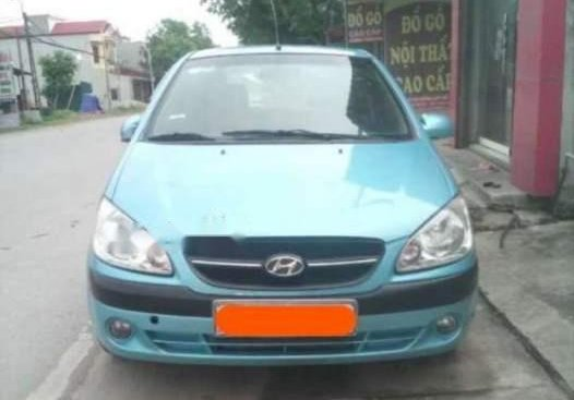 Cần bán gấp Hyundai Getz đời 2009, màu xanh lam, xe nhập