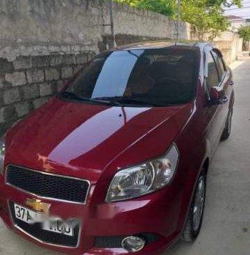 Cần bán lại xe Chevrolet Aveo 1.4AT năm sản xuất 2018, màu đỏ
