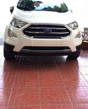 Cần bán lại xe Ford EcoSport 2018, màu trắng chính chủ