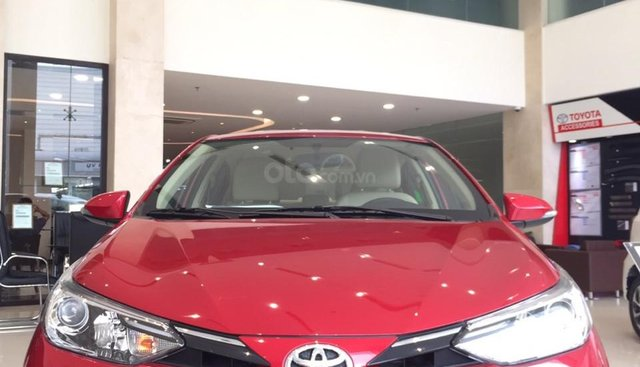 Cần bán xe Toyota Vios 2019, màu đỏ, 500triệu