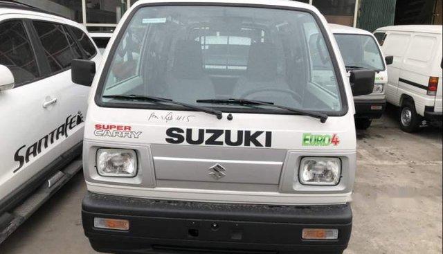 Cần bán xe Suzuki Super Carry Van năm 2019, màu trắng