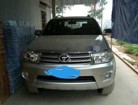 Bán Toyota Fortuner sản xuất 2010, màu bạc, nhập khẩu nguyên chiếc