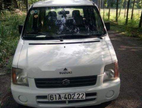 Bán xe Suzuki Wagon R+ đời 2005, màu trắng