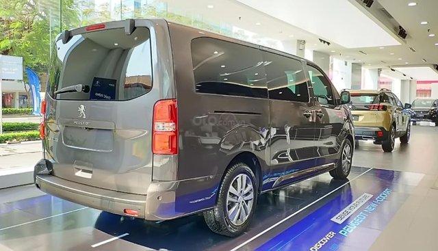 Bán xe Peugeot Traveller Premium đời 2019, màu xám