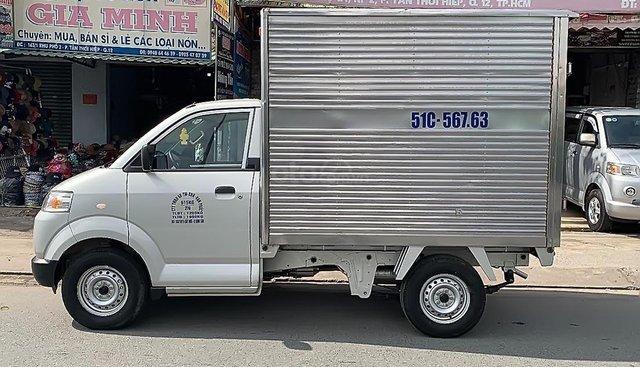Cần bán Suzuki Carry đời 2015, màu bạc mới chạy 6.000 km