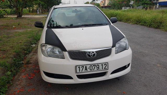 Bán Toyota Vios đời 2007 màu trắng, xe chính chủ, biển Thái Bình, cần bán 166 triệu
