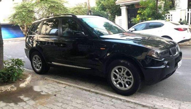 Cần bán lại xe BMW X3 sản xuất 2008, màu đen chính chủ, giá chỉ 360 triệu
