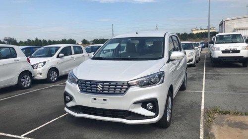 Cần bán Suzuki Ertiga 1.5 MT sản xuất năm 2019, màu trắng, giá chỉ 499 triệu