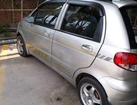 Bán xe Daewoo Matiz năm 2005, màu bạc, giá tốt