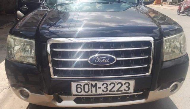 Cần bán gấp Ford Everest năm sản xuất 2007, màu đen