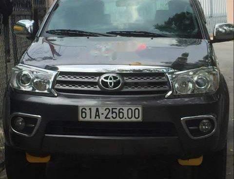 Bán Toyota Fortuner sản xuất năm 2010, màu xám, giá chỉ 650 triệu