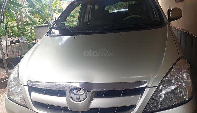 Cần bán lại xe Toyota Innova G 2006, màu bạc
