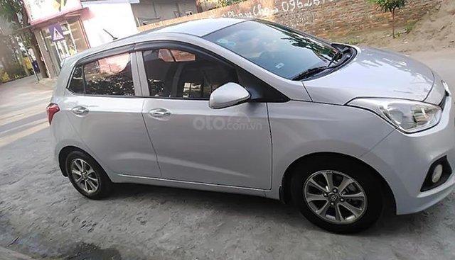 Bán Hyundai Grand i10 1.0 MT sản xuất 2015, màu bạc, nhập khẩu, 280tr