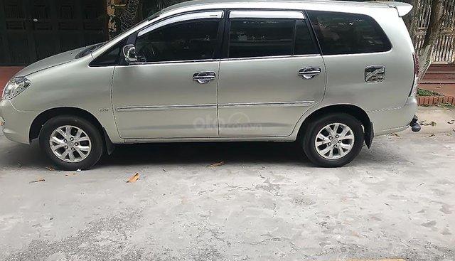 Cần bán xe cũ Toyota Innova đời 2008, màu bạc