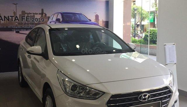Bán Hyundai Accent 1.4 MT full sản xuất 2019, sẵn xe giao ngay - LH: 0907 57 48 01