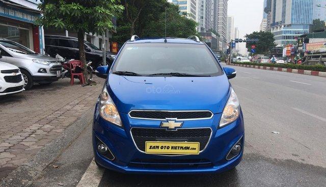 Cần bán Chevrolet Spark 1.0 LTZ đời 2015, màu xanh lam, giá cạnh tranh