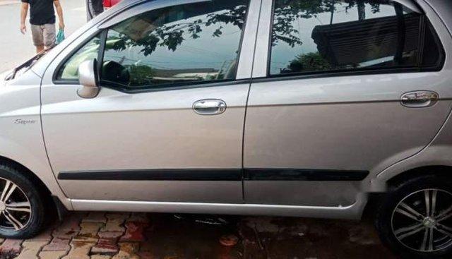 Cần bán xe Chevrolet Spark Super sản xuất 2009, màu bạc