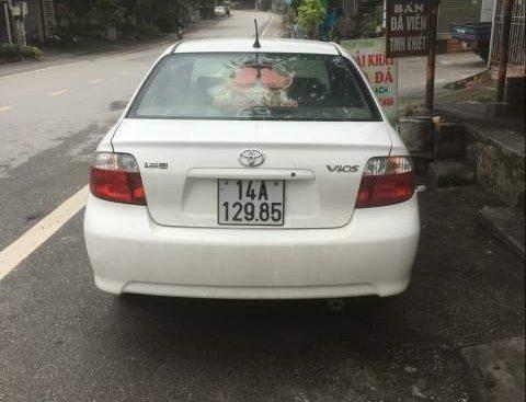 Bán Toyota Vios G sản xuất năm 2003, màu trắng xe gia đình, giá 186tr