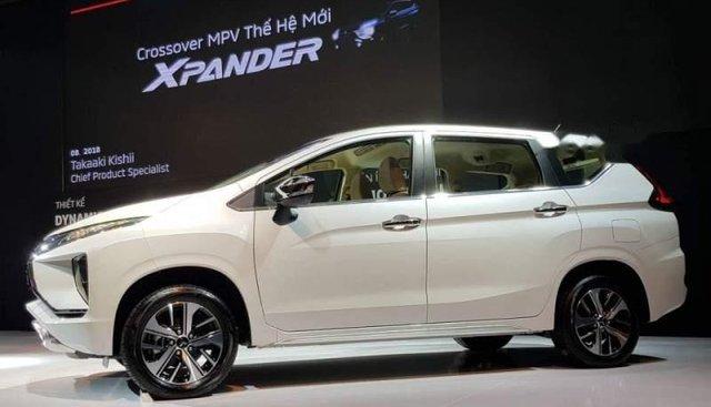 Bán xe Mitsubishi Xpander sản xuất năm 2019, màu trắng, nhập khẩu nguyên chiếc, giá tốt