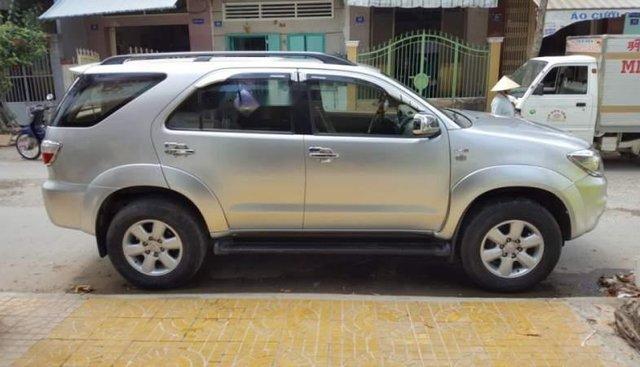 Cần bán xe Toyota Fortuner đời 2009, màu bạc số sàn, giá tốt