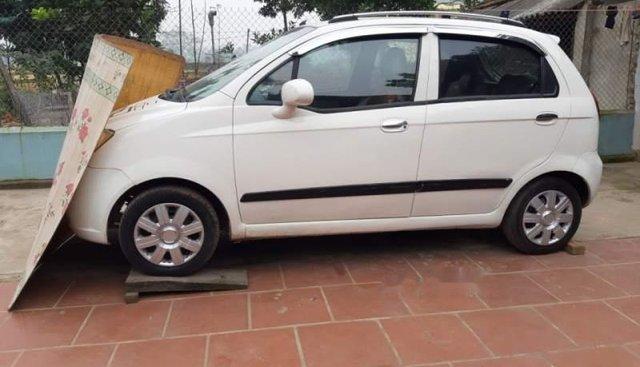 Cần bán lại xe Chevrolet Spark 2009, màu trắng, chính chủ giá cạnh tranh