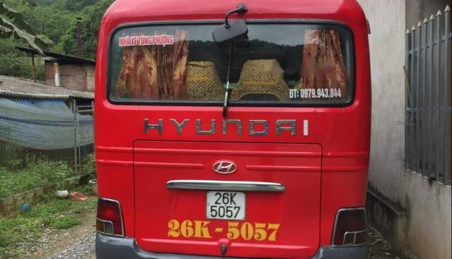 Bán Hyundai County 1999, màu đỏ, xe nhập