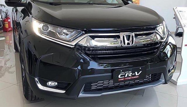 Bán Honda CR V E năm sản xuất 2019, màu đen, nhập khẩu nguyên chiếc