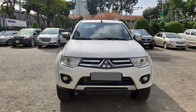 Bán xe Mitsubishi Pajero Sport năm sản xuất 2016, màu trắng, nhập khẩu