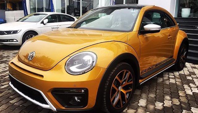 Bán ô tô Volkswagen Beetle Dune đời 2018, màu vàng, nhập khẩu