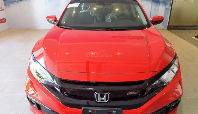Bán New Honda Civic RS 2019, vay ngân hàng 90%, Khuyến mãi: BH 2 chiều, dán kính toàn xe