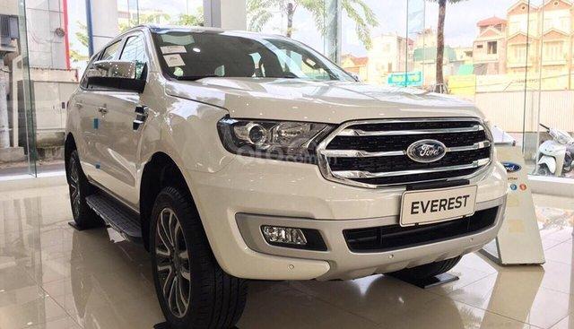 Lào Cai bán Ford Everest Titan 2019, giá tốt nhất thị trường, trả góp cao tặng full phụ kiện, LH 0974286009
