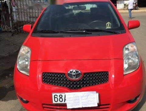 Bán xe Toyota Yaris năm 2008, màu đỏ, nhập khẩu số tự động, giá tốt