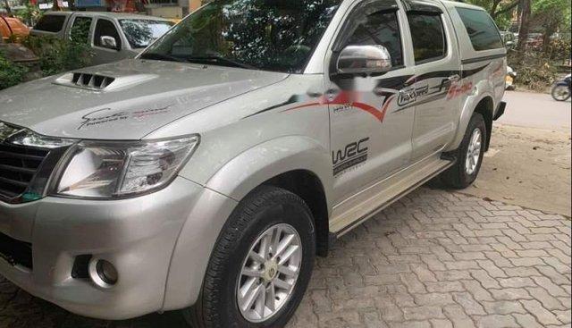 Bán ô tô Toyota Hilux G 4x2 sản xuất 2015, màu bạc, nhập khẩu nguyên chiếc ít sử dụng