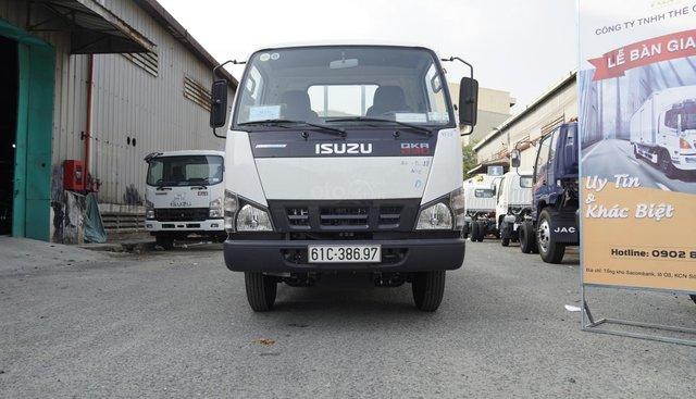 Bán xe tải Isuzu 1T4 thùng lửng - QKR77FE4