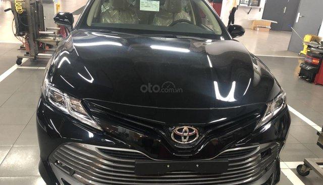 Bán xe Toyota Camry 2.0G 2019, màu đen, nhập khẩu nguyên chiếc - giao xe ngay