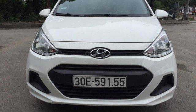 Xe Hyundai Grand i10 sản xuất năm 2016, màu trắng, nhập khẩu nguyên chiếc