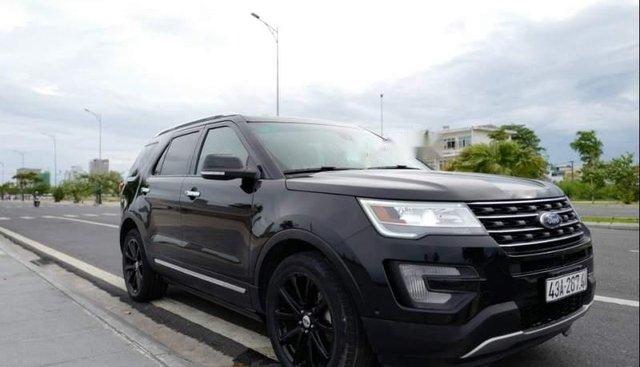 Cần bán Ford Explorer năm sản xuất 2017, màu đen, nhập khẩu