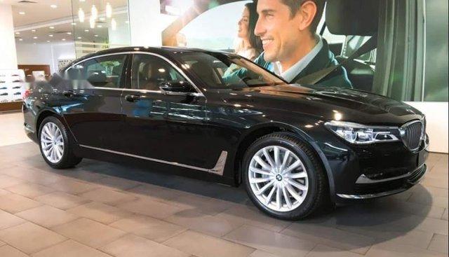 Bán ô tô BMW 7 Series 740Li đời 2019, màu đen, nhập khẩu nguyên chiếc
