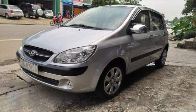 Bán xe Hyundai Getz 1.1 MT sản xuất 2009, màu bạc số sàn