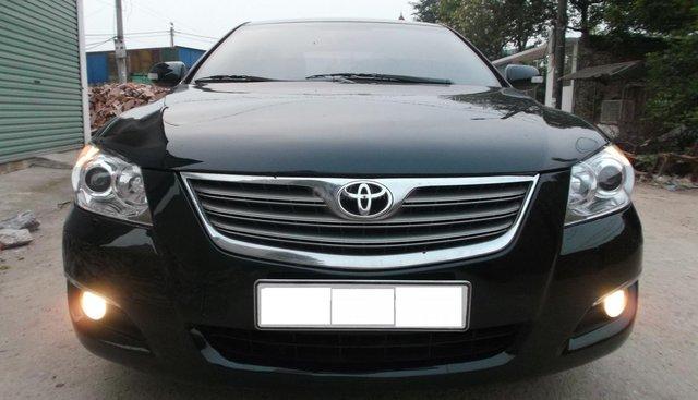 Cần bán Toyota Camry 3.5Q V6 năm sản xuất 2007, màu đen, giá chỉ 500 triệu