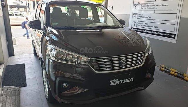Bán ô tô Suzuki Ertiga 1.5AT sản xuất 2019, màu nâu, nhập khẩu