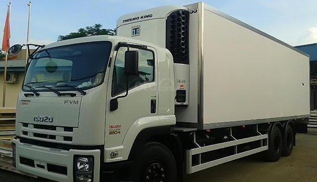 Bán Isuzu FVM 6x4 đời 2019, màu trắng