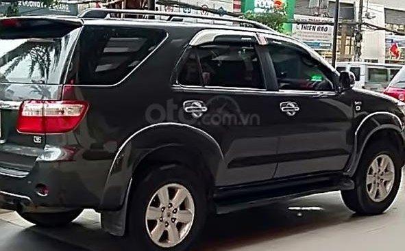Cần bán Toyota Fortuner sản xuất năm 2010, màu xám xe gia đình