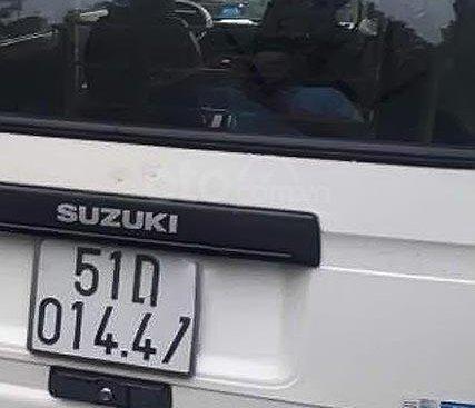 Cần bán gấp Suzuki Blind Van đời 2014, màu trắng